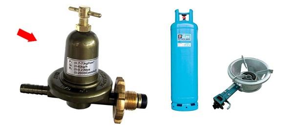 Bình gas công nghiệp sử dụng cho các bếp ăn công nghiệp