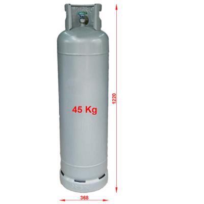 Kích thước bình gas công nghiệp 45kg