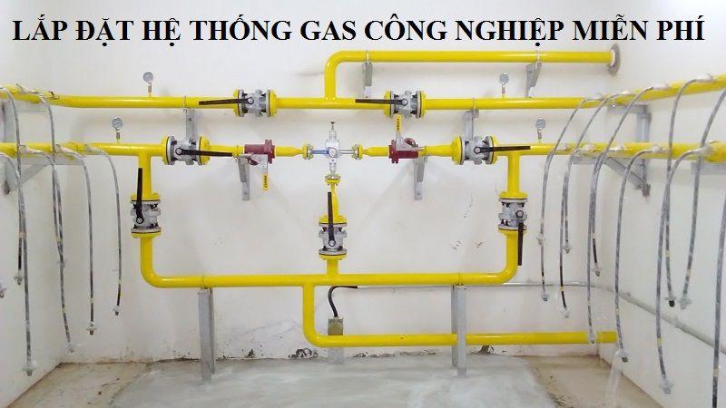 Lắp đặt hệ thống gas công nghiệp