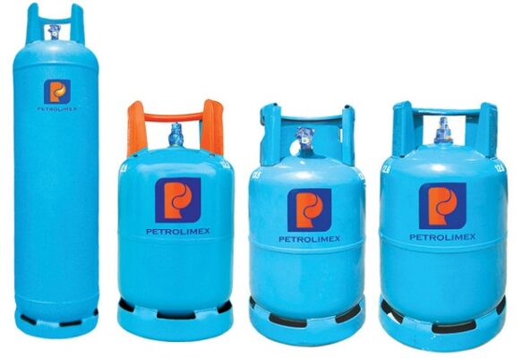 Các sản phẩm bình gas Petrolimex